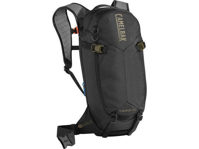 CamelBak T.O.R.O. Protector 14 Backpack dry black/burnt olive